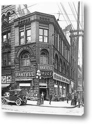 Таймс Сквер в дождливую ночь.Май 1952г.