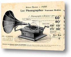 Постер Граммофон
