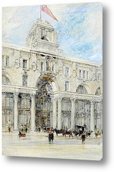 Постер Лондон: Площадь Вильяма Уайтли