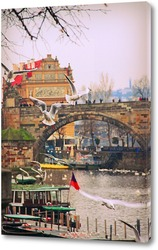 Постер Чайки над Влтавой
