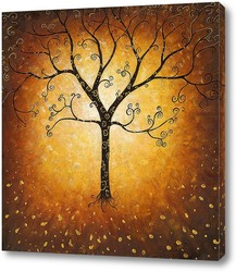 Картина Летящее дерево
