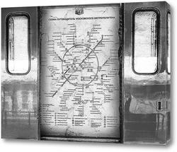 Постер Схема метрополитена