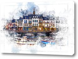 Картина Каналы Голландия
