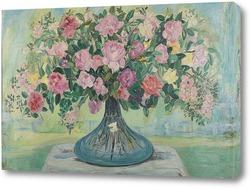 Картина Большой букет роз