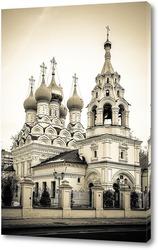 Постер Храм Николая Чудотворца в Пыжах