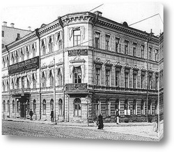 Картина Москва, старинная фотография
