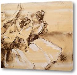 Обучение танцовщицы у станка