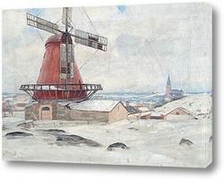 Картина Холм Ветряной мельницы