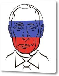 Картина В.В.Путин.