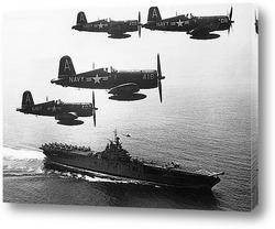 Испытательные полеты F1U-4 -<Корсар>,1940г.