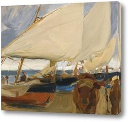 Лодки в мели, Валенсия
