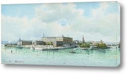 Картина Стокгольмский дворец