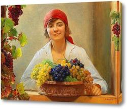Картина Урожай винограда