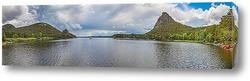 Постер Озеро Боровое в Казахстане