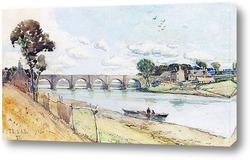 Картина Мост на реке Ди