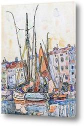Волендам, рыбацкие лодки