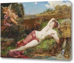 Картина Венера и Купидон