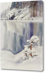 Картина Замерзающий залив