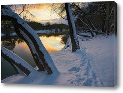 Постер зима: начало