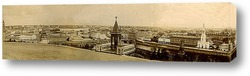 Постер Панорама старой Москвы