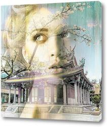 Постер Восточный храм