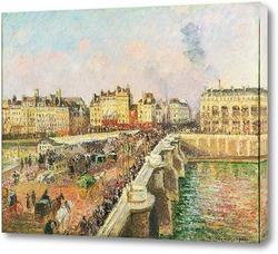 Картина Солнечный день, Новый мост