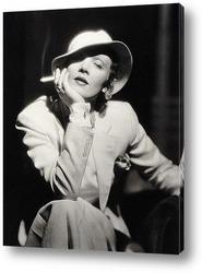 Актрисса Марлен Дитрих,1930-е.