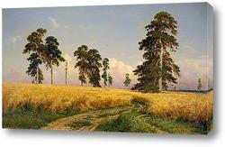 Постер Поле Пшеницы