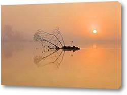 Постер Разлив на реке