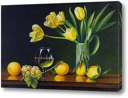 Постер Натюрморт с лимонами