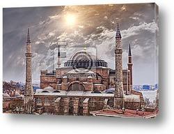 Постер Собор Святой Софии, Стамбул
