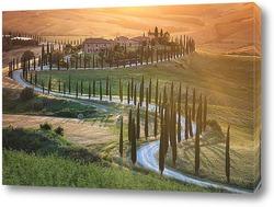 Постер Закат в Тоскане