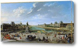 Вид на Париж с острова Сите