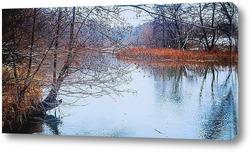 Постер Река ЦНА Первый снег