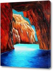 Постер Картина Морской пейзаж
