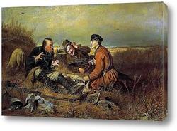 Постер Охотники на привале