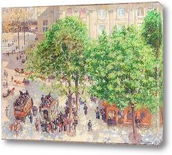 Бульвар Монмартр в Париже (1893)