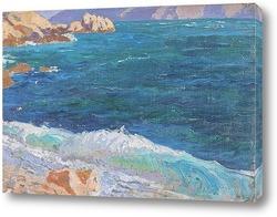 Картина Средиземноморское побережье