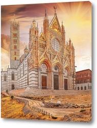 Постер Собор Сиены. Тоскана