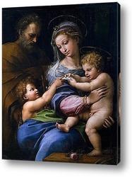 Картина Святое семейство с маленьким Иоанном Крестителем