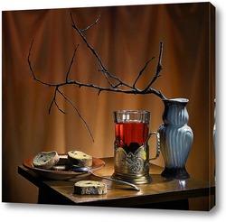 Постер Чай с сухариками