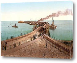 Постер Адмиралтейство, Пирс, Англия. 1890-1900 гг
