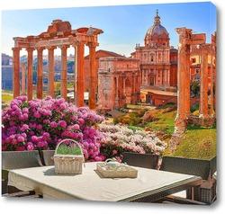 Постер Римский форум