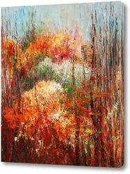 Картина Рябиновая осень