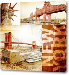 Постер Мосты Нью-Йорка