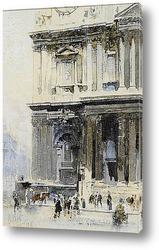 Картина Лондон: Собор Святого Павла, Западный фронт