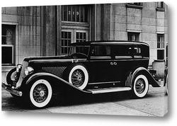 Постер Ретро машина 1934 г.