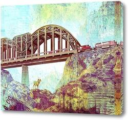Картина Ретро мост