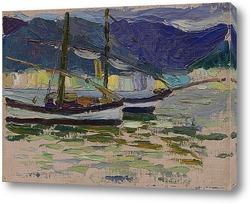 Постер Рыбацкие лодки, Сестри