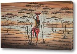 Постер Africa. Donna